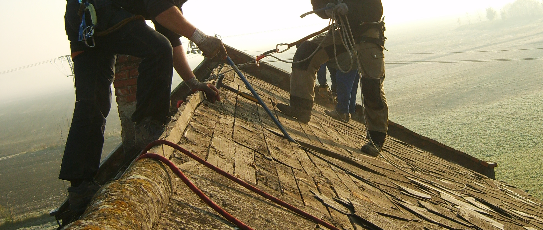 rozebirani stare strechy
