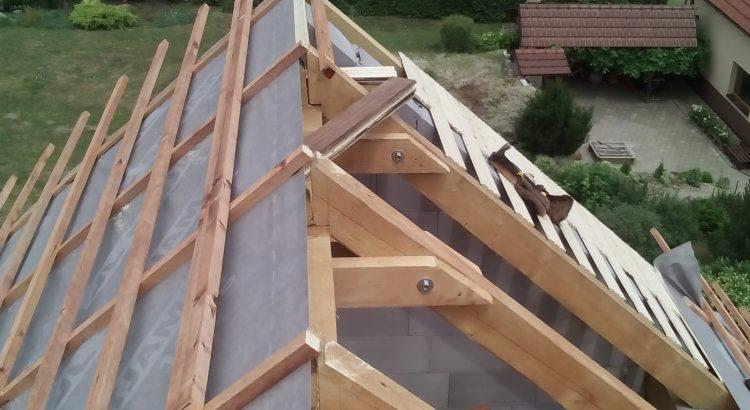 krov na nové střeše